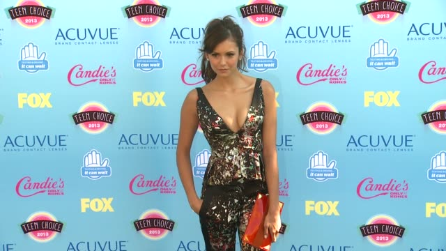 Nina Dobrev at 2013 Teen Choice Awards Arrivals on 8/11/2013 in Universal City CA