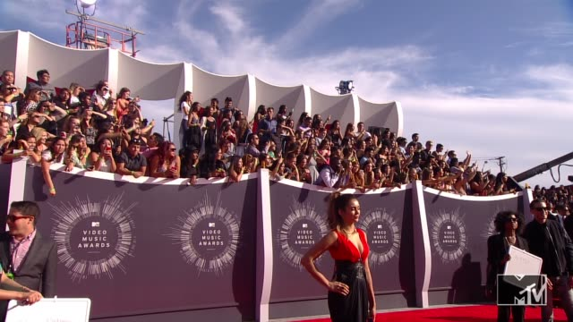 Nina Dobrev at 2014 MTV Video Music Awards at The Forum on August 24 2014 in Inglewood California