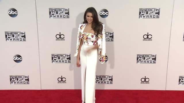 Nina Dobrev at 2015 American Music Awards Arrivals in Los Angeles CA