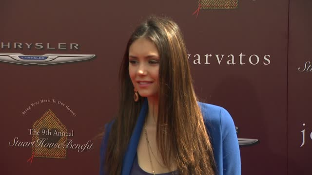 Nina Dobrev at 9th Annual John Varvatos Stuart House Benefit on 3/11/12 in Los Angeles CA