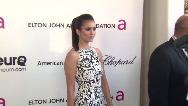 Nina Dobrev at Elton John AIDS Foundation Presents 21st Annual Academy Awards Viewing Party Sponsored By Chopard Neuro Drinks And Wells Fargo on...