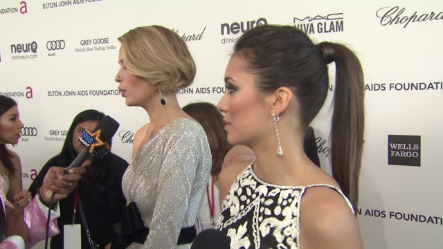 INTERVIEW Nina Dobrev at Elton John AIDS Foundation Presents 21st Annual Academy Awards Viewing Party Sponsored By Chopard Neuro Drinks And Wells...