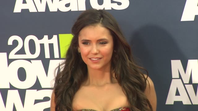 Nina Dobrev at the 2011 MTV Movie Awards at Los Angeles CA