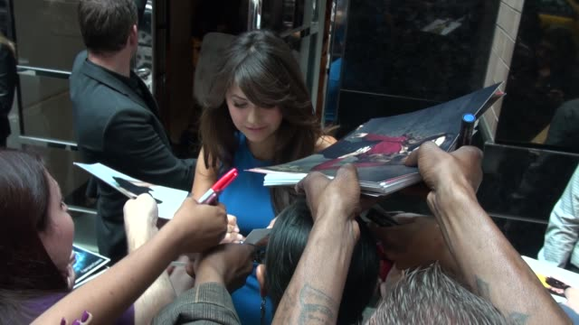 Nina Dobrev at the 2013 CW Upfront Presentation in New York NY on 5/16/13