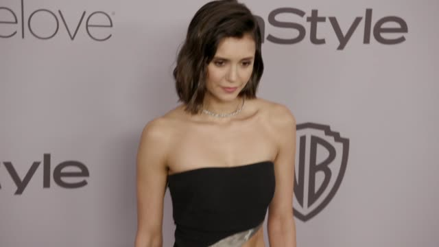 Nina Dobrev at the Warner Bros Pictures and InStyle Host 19th Annual PostGolden Globes Party at The Beverly Hilton Hotel on January 7 2018 in Beverly...