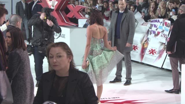 Return of Xander Cage Premiere European Premiere at Cineworld 02 Arean on January 10 2017 in London England