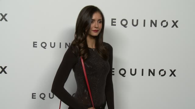 Nina Dobrev Equinox Hollywood Opens as a Contemporary Art and Performance Exhibition with Choreography by Dana Foglia in Los Angeles CA