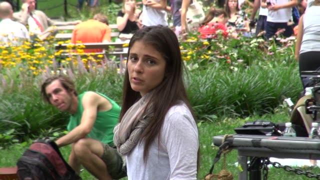 Nina Dobrev on location for 'Girls' in New York 07/31/12