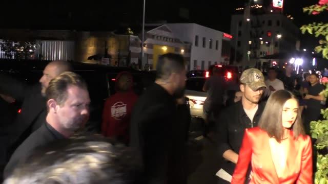 Nina Dobrev outside TAO in Hollywood in Celebrity Sightings in Los Angeles