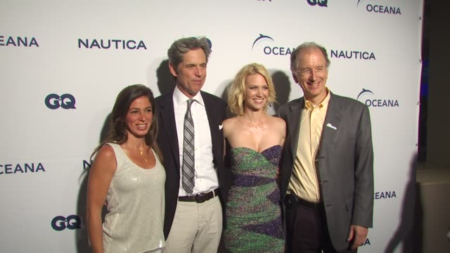 nina flood peter hunsinger january jones andy sharpless at the nautica celebrates world oceans day at west hollywood ca - january jones stock videos & royalty-free footage