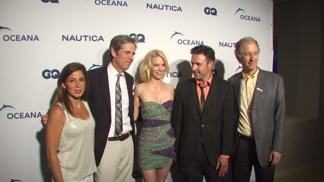 nina flood peter hunsinger january jones david arquette andy sharpless at the nautica celebrates world oceans day at west hollywood ca - january jones stock videos & royalty-free footage