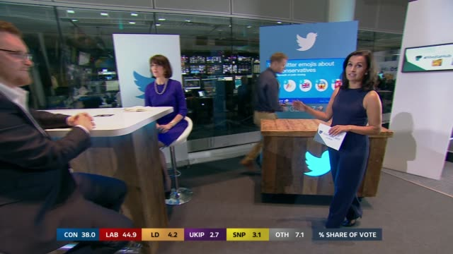nina hossain interviews rob owers on tweets about politicians sot media hub nina hossain interviews joe crilly and jenni russell sot studio tom bradby - ニナ・ホサイン点の映像素材/bロール