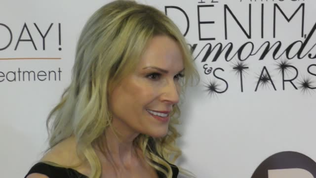nina savellerocklin at the 12th annual denim diamonds and stars on october 22 2017 in westlake village california - westlake village california stock videos & royalty-free footage
