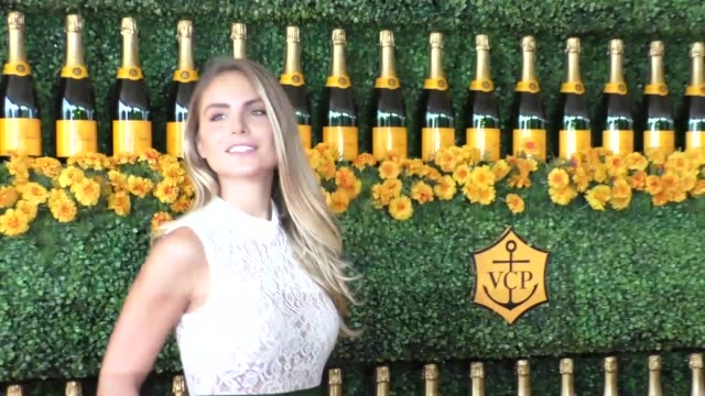 Nina Senicar at the sixth annual Veuve Clicquot Polo Classic at Will Rogers Historic State Park in Pacific Palisades at Celebrity Sightings in Los...