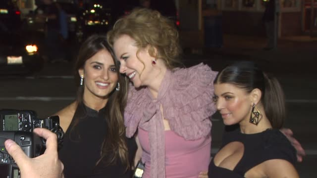 'nine' special screening westwood ca united states 12/10/09 - penélope cruz stock videos and b-roll footage
