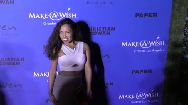 Ninfa Perez at the PAPER Magazine Runway Benefit For MakeAWish Foundation on October 24 2017 in Los Angeles California