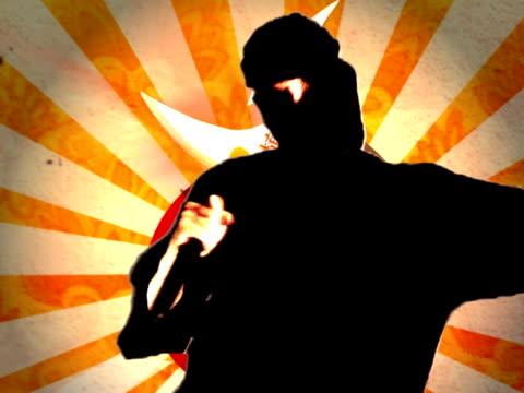 ninja shurikan - nunchaku stock videos and b-roll footage
