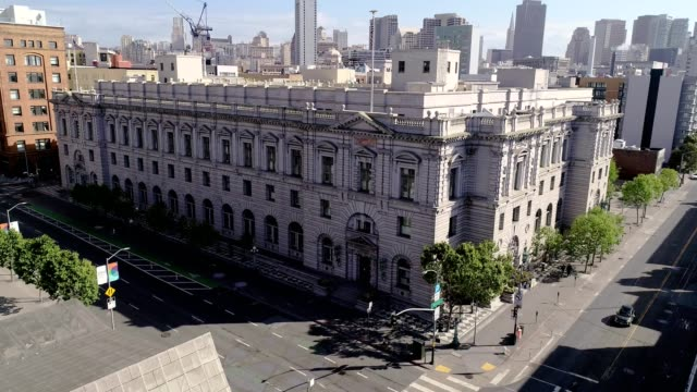 ninth circuit court of appeal in san francisco - courthouse stock videos & royalty-free footage