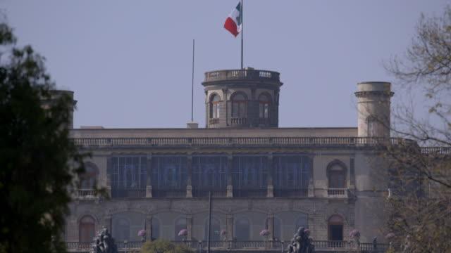 niños heroes monument and chapultepec castle - niños stock videos & royalty-free footage