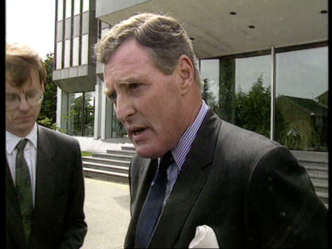 fraud; worthing gv nissan uk hq cms anthony frazer speaking to press sof - we've not been given any details of the matters being investigated man... - worthing点の映像素材/bロール