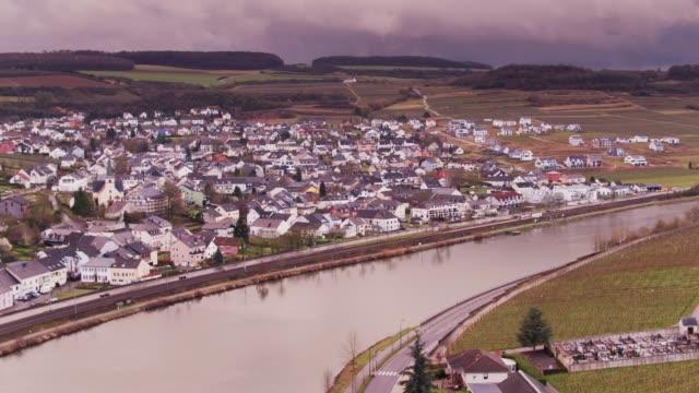 vidéos et rushes de nittel, allemagne et machtum, luxembourg - grand duché du luxembourg