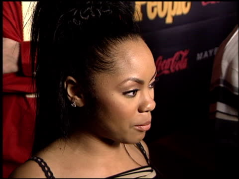 nivea at the Teen People Awards at the Ivar in Hollywood California on January 13 2003