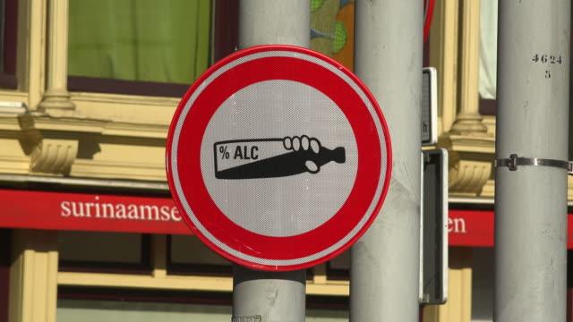 Резултат слика за amsterdam no alcohol sign