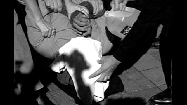 no cia prosecutions following release of secret memos b/w graphicised shot showing reconstruction of waterboarding torture technique used by us... - waterboarding stock videos & royalty-free footage