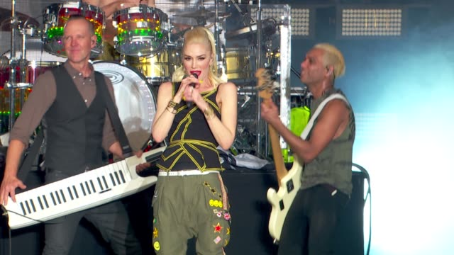 no doubt at global citizen 2015 earth day on national mall to end extreme poverty and solve climate change at national mall on april 18, 2015 in... - no doubt band stock videos & royalty-free footage