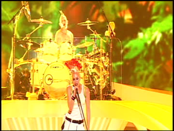 no doubt at the tiger jam xii at las vegas nv. - no doubt stock-videos und b-roll-filmmaterial