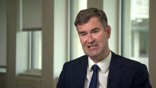 no fault divorces to be introduced as part of reform of 'archaic' divorce laws england london int david gauke mp interview sot ext railings tilt up... - court room stock videos and b-roll footage