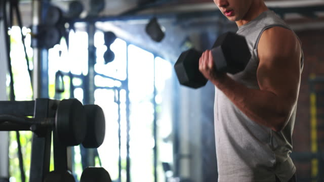 no pain, no gain - bicep stock videos & royalty-free footage