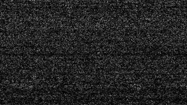 no signal tv snow (loop). - television static stock videos and b-roll footage