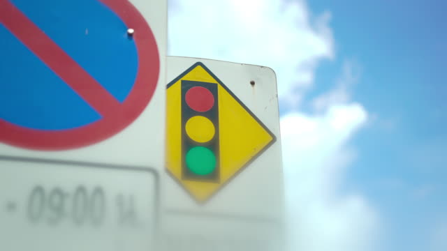 no stopping and sign traffic signs - no parking sign stock videos & royalty-free footage
