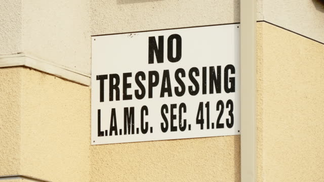 no trespassing sign - no trespassing stock videos & royalty-free footage