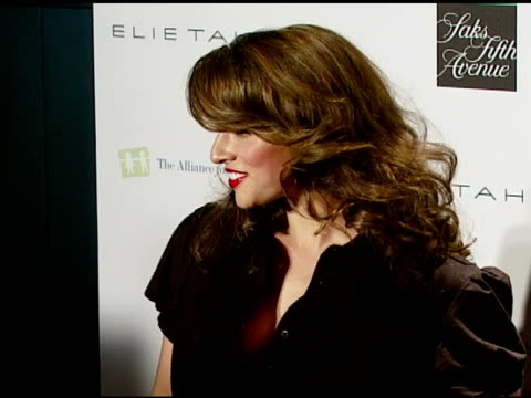 Noa Tishby at the Elie Tahari Celebrates Opening of New Boutique Within Saks Fifth Avenue Benefiting the Alliance For Children's Rights at Saks Fifth...