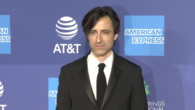 noah baumbach at 31st annual palm springs international film festival film awards gala at palm springs convention center on january 02 2020 in palm... - noah baumbach stock videos and b-roll footage