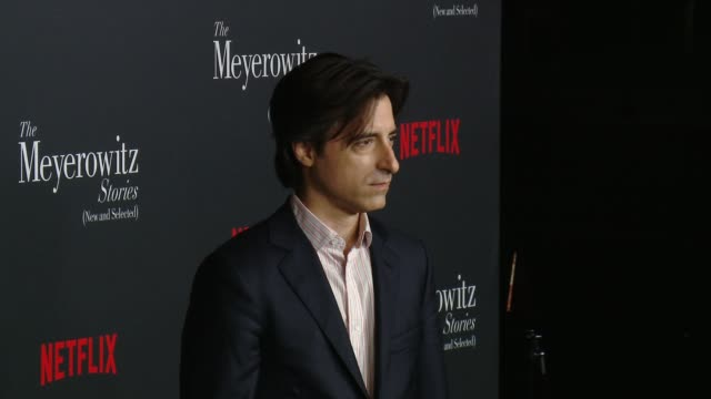 noah baumbach at directors guild of america on october 11 2017 in los angeles california - noah baumbach stock videos and b-roll footage