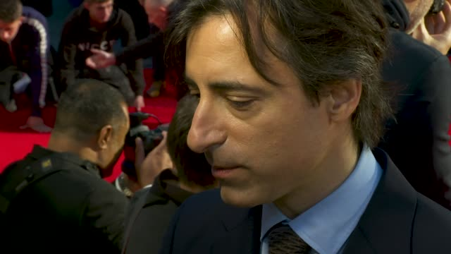 noah baumbach at 'marriage story' european premiere 63rd bfi london film festival at odeon luxe leicester square on october 06 2019 in london england - noah baumbach stock videos and b-roll footage