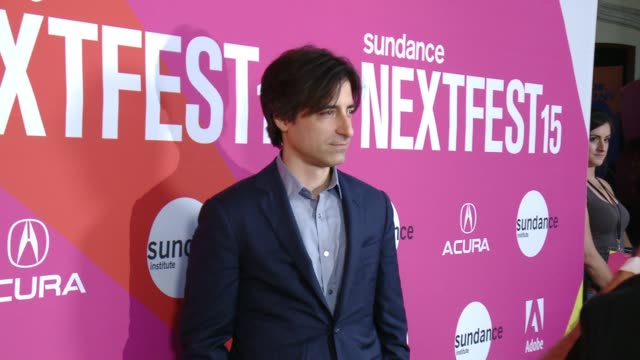 """noah baumbach at """"mistress america"""" los angeles premiere at sundance next fest in los angeles ca - noah baumbach stock videos and b-roll footage"""