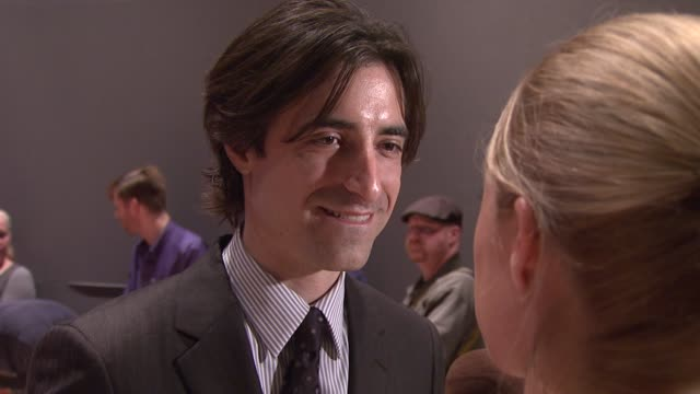 noah baumbach at the 'margot at the wedding' new york premiere at the rose theater in new york new york on october 7 2007 - noah baumbach stock videos and b-roll footage