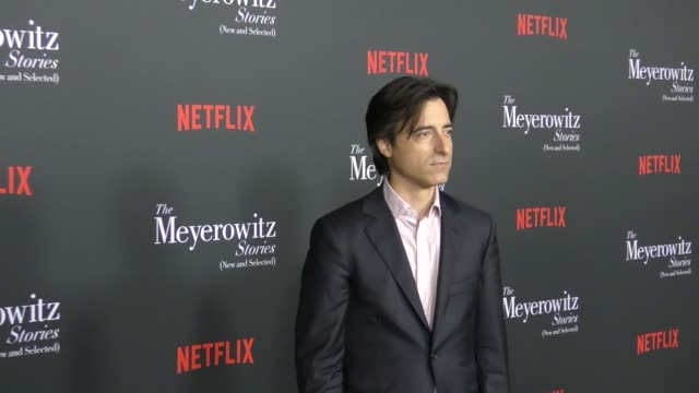 noah baumbach at the meyerowitz stories los angeles special screening at directors guild of america on october 11 2017 in los angeles california - noah baumbach stock videos and b-roll footage
