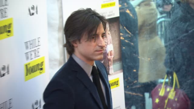 noah baumbach at while we're young new york premiere at the paris theatre on march 23 2015 in new york city - noah baumbach stock videos and b-roll footage