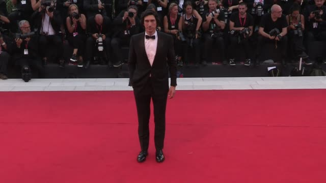 noah baumbach laura dern adam driver walk the red carpet for the screening of marriage story at the 76th venice film festival venice italy on... - noah baumbach stock videos and b-roll footage