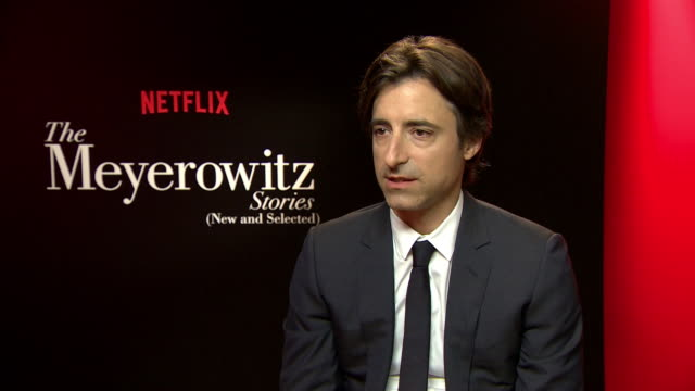interview noah baumbach on how parents end up messing their childern up at 'the meyerowitz stories' interviews on may 22 2017 in cannes france - noah baumbach stock videos and b-roll footage