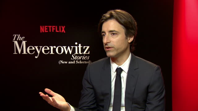 interview noah baumbach on the obession with success at 'the meyerowitz stories' interviews on may 22 2017 in cannes france - noah baumbach stock videos and b-roll footage