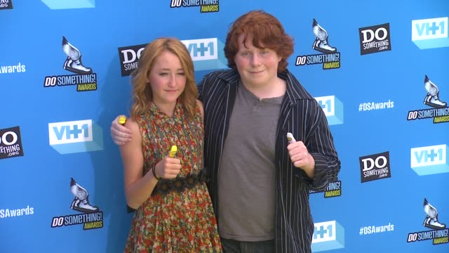 Noah Cyrus Tucker Albrizzi at 2013 Do Something Awards on 7/31/13 in Los Angeles CA