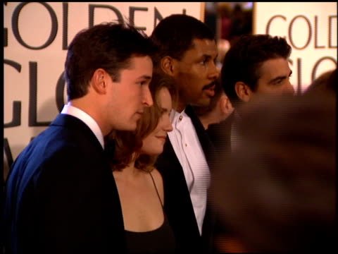 noah wyle at the 1995 golden globe awards at the beverly hilton in beverly hills california on january 21 1995 - noah wyle stock videos and b-roll footage