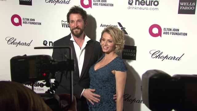 noah wyle at the 23rd annual elton john aids foundation academy awards viewing party sponsored by chopard neuro drinks and wells fargo on february 22... - noah wyle stock videos and b-roll footage
