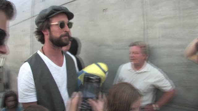 Noah Wyle at the Despicable Me Premiere After Party at the Celebrity Sightings in Los Angeles at Los Angeles CA